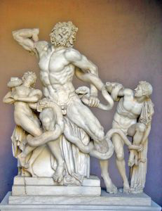 Laocoon Group - Michelangelo, downloaded from http://www.sxc.hu/photo/73991